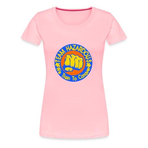 Team Hazardous Logo (Color) - Women's Premium T-Shirt