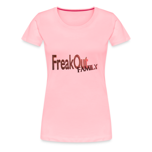 FreakOut Family Logo Print - Women's Premium T-Shirt