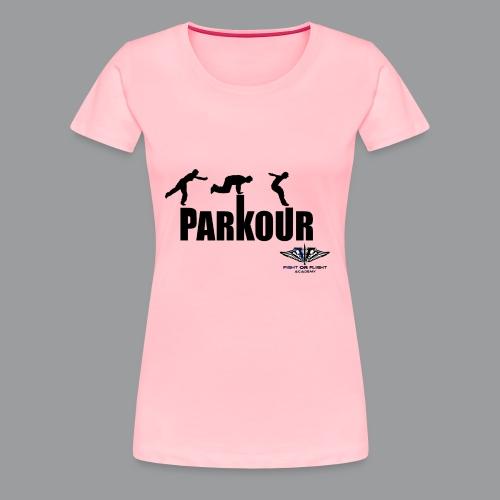 Parkour Text Kong Precision - Women's Premium T-Shirt