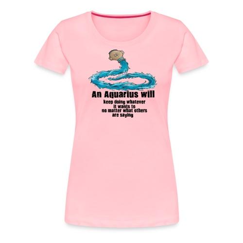 Aquarius - Women's Premium T-Shirt