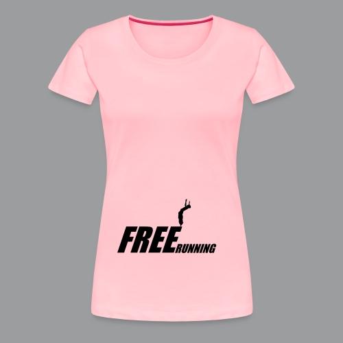 Freerunning Flip - Women's Premium T-Shirt