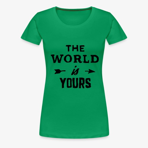the world - Women's Premium T-Shirt