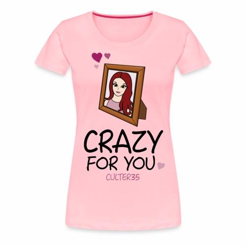 Crazy For Ariana - Women's Premium T-Shirt