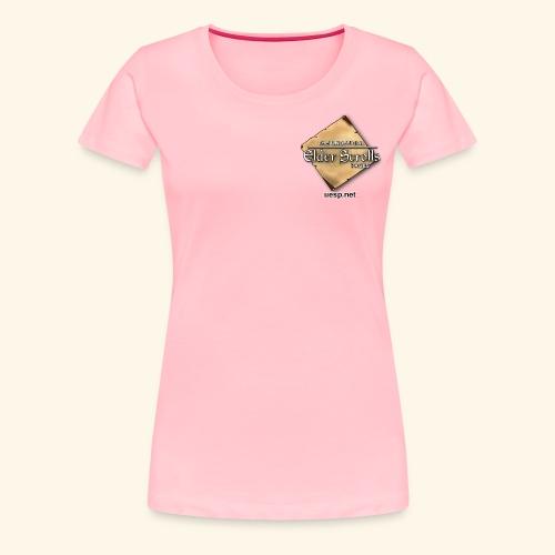 Uesp Left Pocket with Website - Women's Premium T-Shirt
