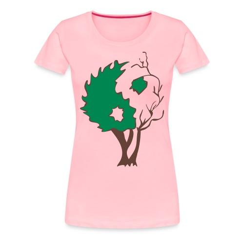 in tree col - Women's Premium T-Shirt