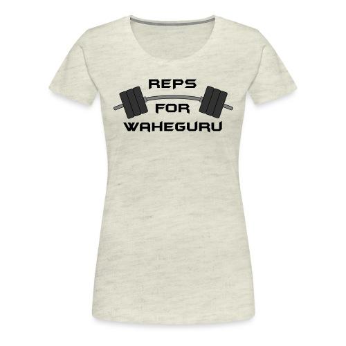 REPS FOR WAHEGURU - Women's Premium T-Shirt