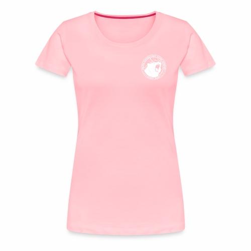 White Cybear Logo - Women's Premium T-Shirt