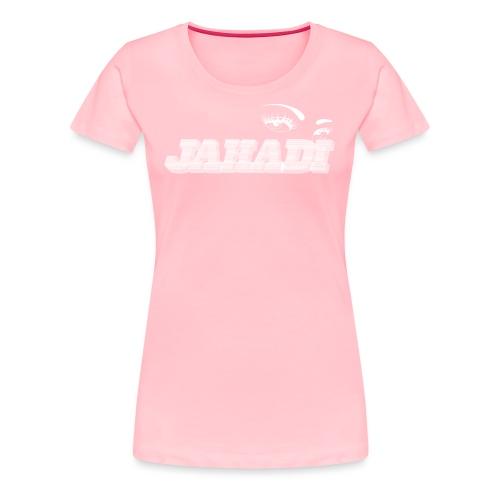 hadilogoWHITE - Women's Premium T-Shirt