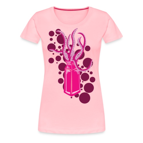 Monster In a Bottle - Women's Premium T-Shirt