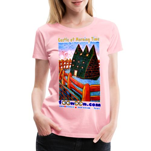 Castle at Morning Time - Women's Premium T-Shirt
