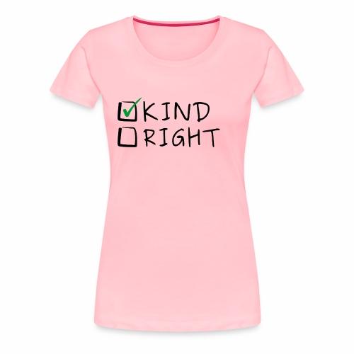 Choose Kind Anti-Bullying - Women's Premium T-Shirt