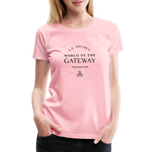 World of The Gateway BLK - Women's Premium T-Shirt