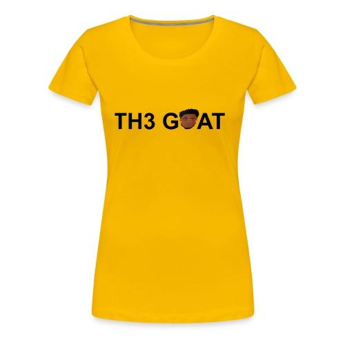 The goat cartoon - Women's Premium T-Shirt