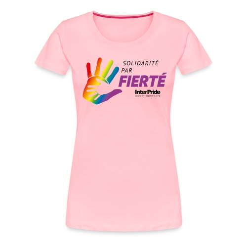 IP_theme logo_2016_FR_pos - Women's Premium T-Shirt