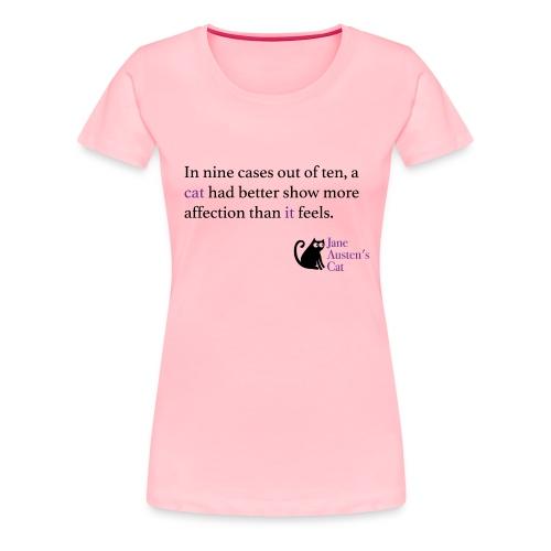 9outof10cats - Women's Premium T-Shirt