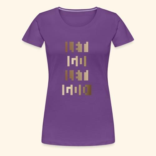 LET GO LET GOD LGLG #3 - Women's Premium T-Shirt