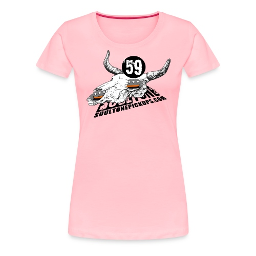 59 Texas Blues - Women's Premium T-Shirt