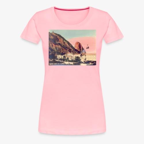 Sugarloaf Rio de Janeiro - Women's Premium T-Shirt