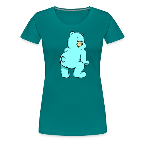 blue twerk - Women's Premium T-Shirt