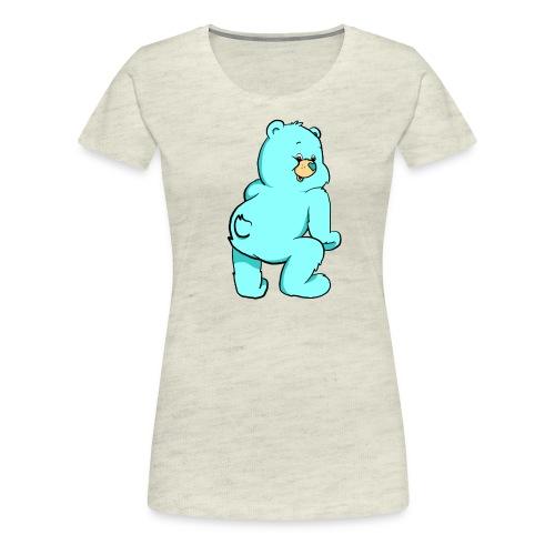 blue twerk - Women's Premium T-Shirt