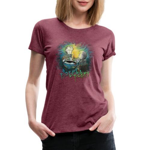 planet poker - Women's Premium T-Shirt