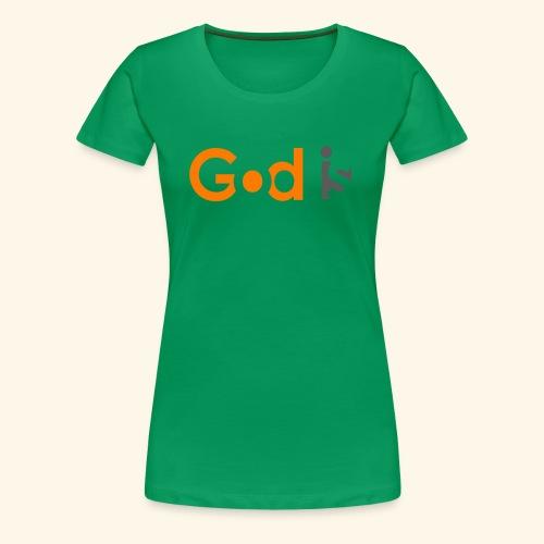 GOD IS #6 - Women's Premium T-Shirt