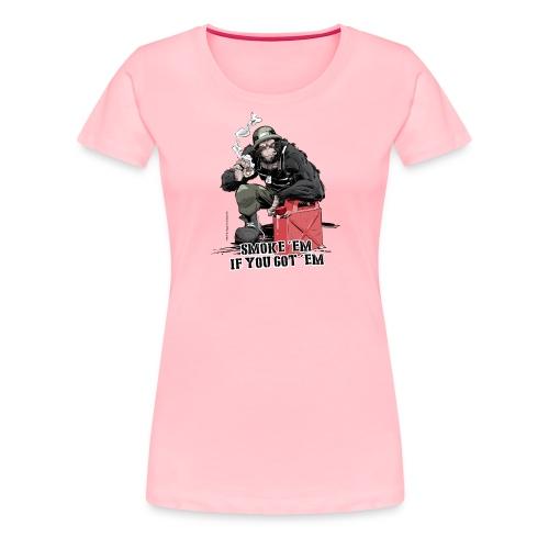 PRIMATE FALLS - Women's Premium T-Shirt