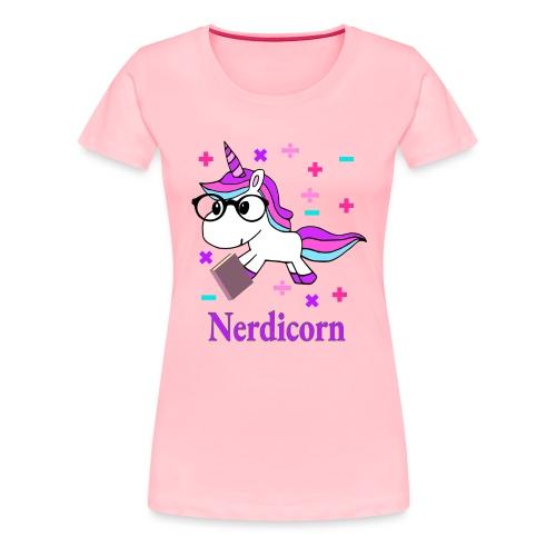 Nerdicorn! - Women's Premium T-Shirt