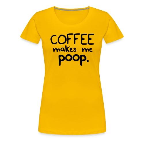 coffee3 - Women's Premium T-Shirt