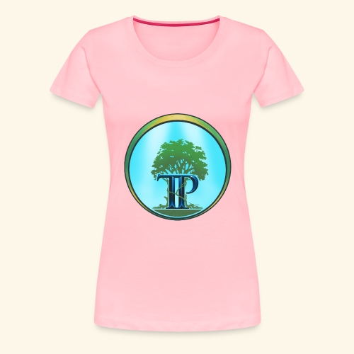 The Twin Powers Ring Logo - Women's Premium T-Shirt