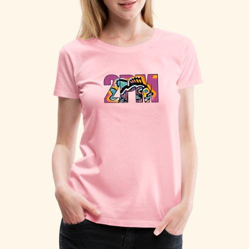 2PM Painted Fish - Women's Premium T-Shirt