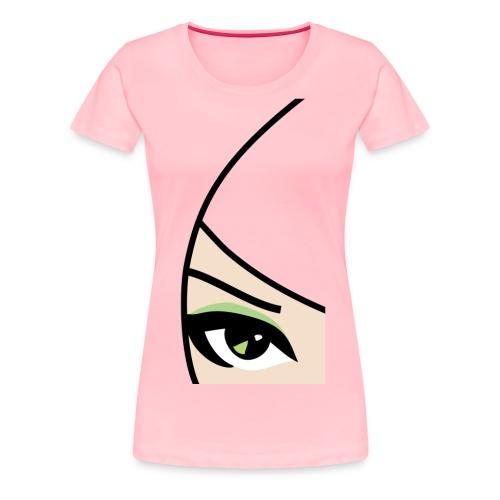 Banzai Chicks Single Eye Women's T-shirt - Women's Premium T-Shirt