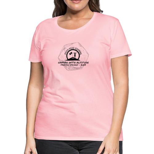 Pikes Peak Gamers Convention 2018 - Clothing - Women's Premium T-Shirt