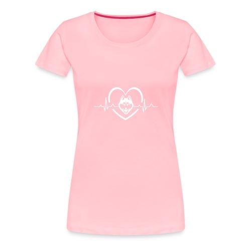 Love every beat for Husky T-Shirt - Women's Premium T-Shirt