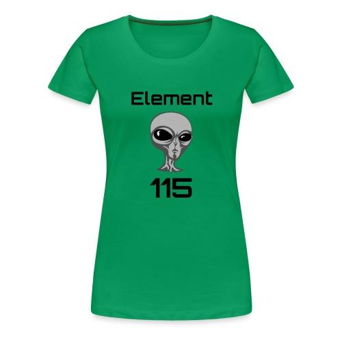 Element 115 - Women's Premium T-Shirt