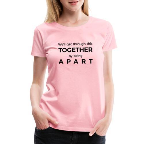 Overcome Covid19 - Women's Premium T-Shirt
