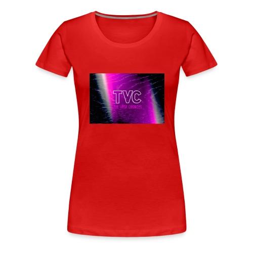 Pink Woodie TVC - Women's Premium T-Shirt