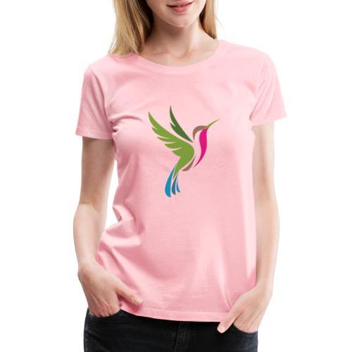 Hummingbird Spot Logo Products - Women's Premium T-Shirt