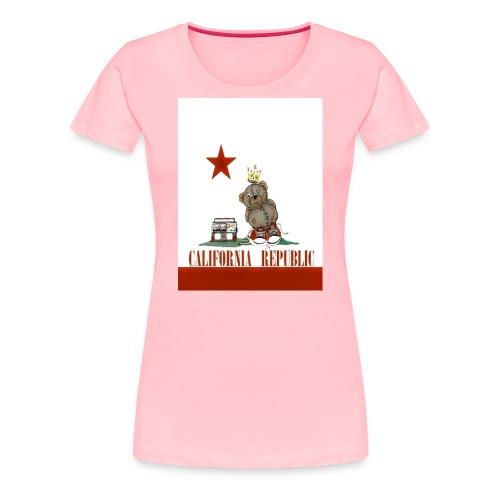 Lucky Number7 California Teddy NO Gunja Leaf - Women's Premium T-Shirt