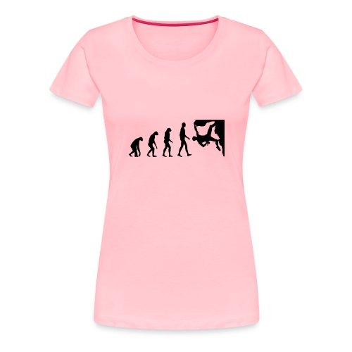 Funny Rock Climbing - Women's Premium T-Shirt