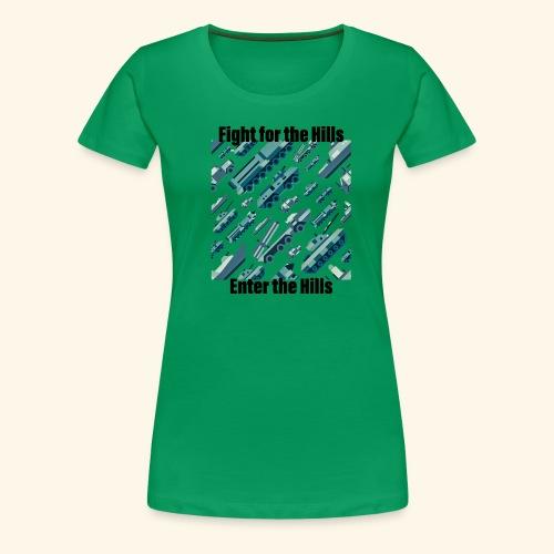 Fight or Enter - Women's Premium T-Shirt
