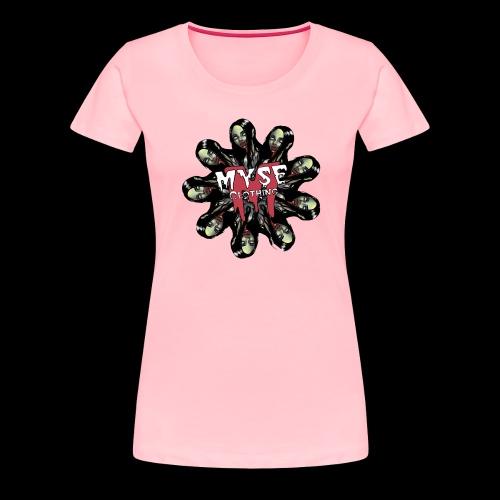 MYSE Clothing - zombie mandala - Women's Premium T-Shirt