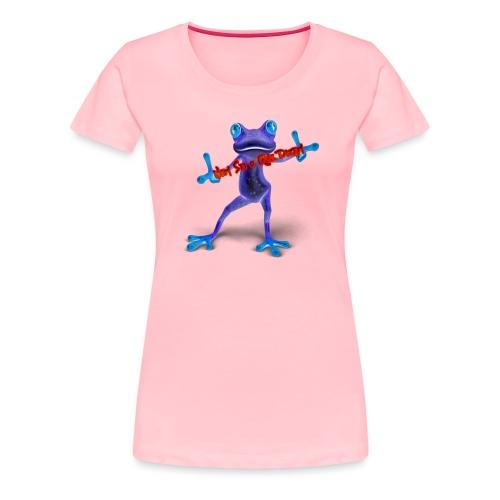 Logo - Nem Sei o Que Dizem - Podcast - Women's Premium T-Shirt
