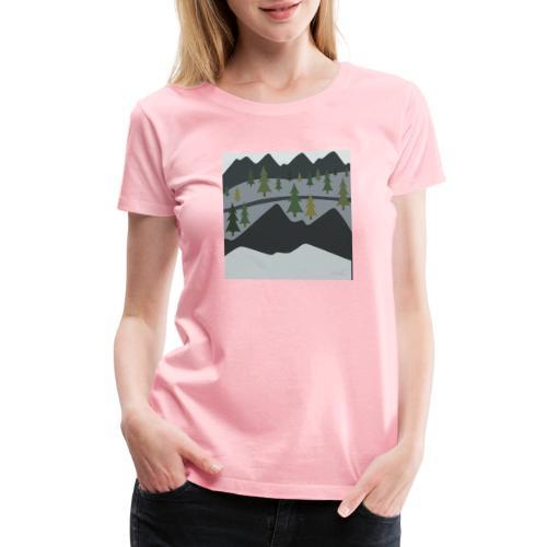 Scenic View - Women's Premium T-Shirt