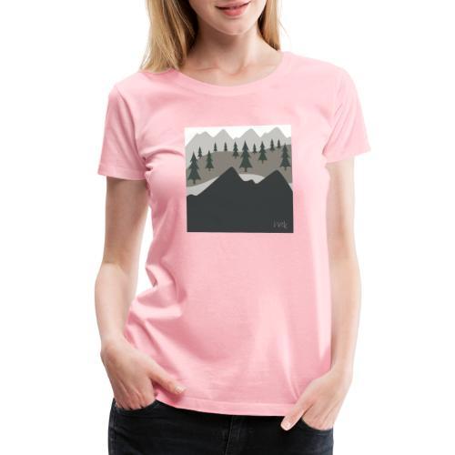 Views - Women's Premium T-Shirt