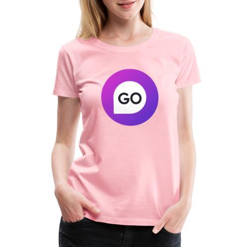 KGO ICON gradient - Women's Premium T-Shirt