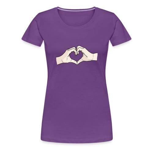Heart Hands - Women's Premium T-Shirt