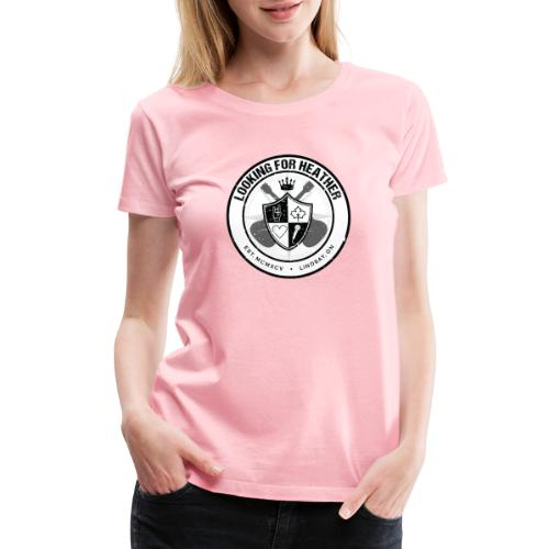 Looking For Heather - Crest Logo - Women's Premium T-Shirt