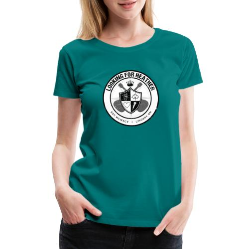 Looking For Heather - Crest Logo - Women's Premium T-Shirt