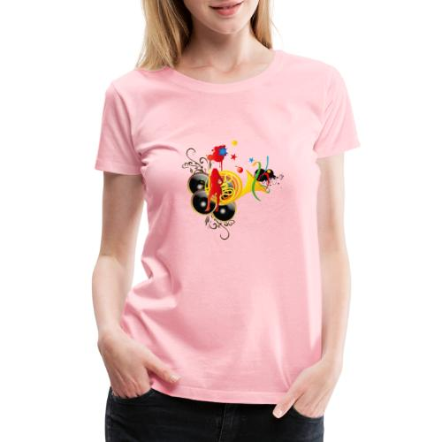 sound system - Women's Premium T-Shirt
